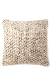 Luxe Foil Knitted Cushion