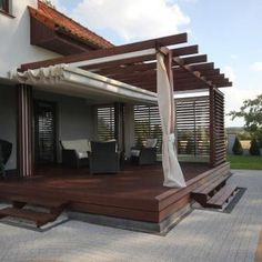 Curate your own exclusive oasis with the top 33 ideal outdoor patio ideas. Discover trendy yard lounge and dining area layouts from conventional to modern. patio ideas pergola Patio Roof Design, What Usually Forgotten When Make a Beautiful Patio Pergola Canopy, Outdoor Pergola, Backyard Pergola, Pergola Shade, Patio Roof, Pergola Kits, Backyard Landscaping, Backyard Ideas, Pergola Lighting