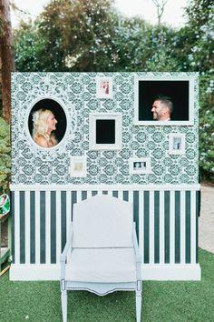 cabine de fotos para casamento - foto de Daniel Kim Photography