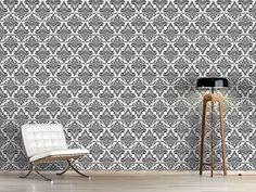 Design #Tapete Opulenz Weiss