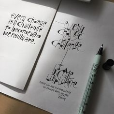 Calligraphy by Yukimi Annand