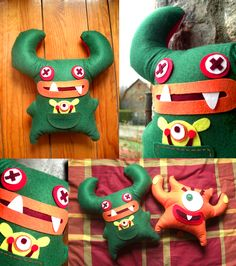 Felt Monster 02 - By Rose & Marc