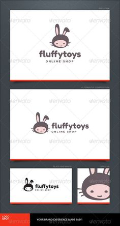 Fluffy Toys Logo Template