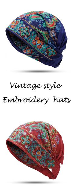 Chanel handbags – High Fashion For Women Boho Fashion, Vintage Fashion, Womens Fashion, Vintage Style, Fashion Hats, Mode Turban, Cotton Beanie, Hat Embroidery, Chanel Handbags