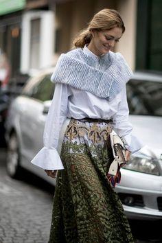 Street Style: Paris Fashion Week Spring 2017 - theFashionSpot