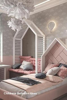 Click in the image to find more kids bedroom inspirations with Circu Magical Furniture! Be amazed with Circu Magical furniture and their luxury design: CIRCU. Cute Girls Bedrooms, Bedroom For Girls Kids, Kids Bedroom Designs, Kids Room Design, Bedroom Boys, Luxury Kids Bedroom, Small Room Bedroom, Baby Bedroom, Lego Bedroom