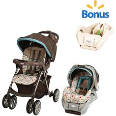 Graco - Spree Travel System, Twister with Bonus Base  Nice value with extra base for 2nd car.