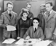 Chaplin - Pickford - Fairbanks - D.W. Griffith United Artists 1919