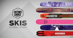 Announcing the 2016 Editors' Choice Awards, selected from more than 400 skis, splitboards, bindings and boots tested at Powder Mountain, Utah and Crested Win Free Stuff, Choice Awards, Submissive, Blue Bird, Editor, Skiing, Giveaway, Outdoor Recreation, Sports