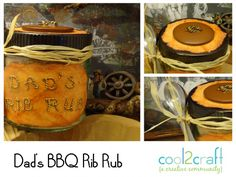 Dad's BBQ Rib Rub by Candace Jedrowicz