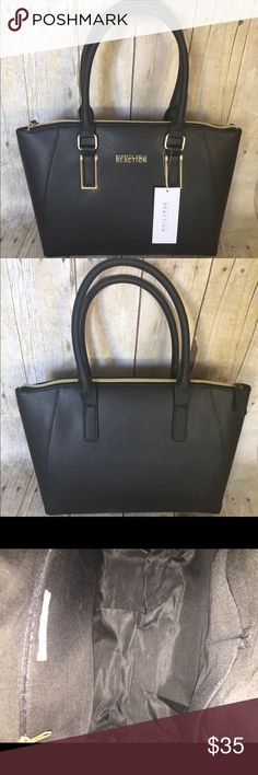 👜KENNETH COLE NWT black handbag 👜 👜KENNETH COLE NWT Black handbag 15x11 one zip pocket inside and 2 others retails for 89.00. This is a steal 👜 Kenneth Cole Reaction Bags Satchels