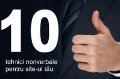 Cum sa cresti gradul de conversie pe site aplicand tehnicile nonverbale Company Logo, Tech Companies