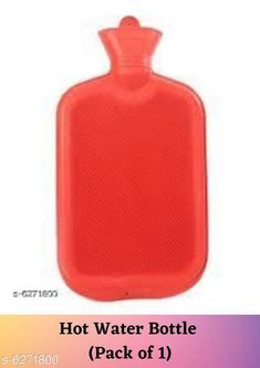 Health Equipments (Diabetic Care Etc) Hot Rubber Bottle for pain reilef (Pack of 1) Product Name: Hot Rubber Bottle for pain reilef  Fabric: Rubber Size: Free Size Multipack: 1 Country of Origin: India Sizes Available: Free Size *Proof of Safe Delivery! Click to know on Safety Standards of Delivery Partners- https://ltl.sh/y_nZrAV3  Catalog Rating: ★3.8 (1413)  Catalog Name: Useful Health Equipments CatalogID_993991 C125-SC1574 Code: 222-6271800-