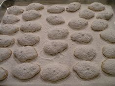 Kourambiethes – Greek Butter Almond Cookies from CGG Greek Sweets, Greek Desserts, Cheesecake Desserts, Greek Recipes, Just Desserts, Greek Cookies, Almond Cookies, Greek Christmas, Greek Dinners