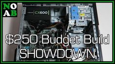 $130 Gaming PC - NOAB's Entry to the $250 Budget Build Showdown