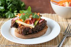 Hoisin Glazed Meatloaf Sandwiches