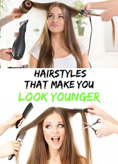 Amazing! Find out the best 3 Hairstyles that make you look younger! I discovered some great hairstyles on the fashion shows' catwalk. Learn how to make them