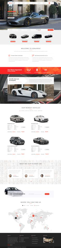 Genurent - Car Rental Service PSD Template • Download ➝ https://themeforest.net/item/genurent-car-rental-service-psd-template/15232992?ref=pxcr