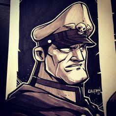 Major Byson by Derek Laufman