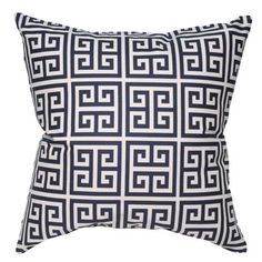Towers Pillow in Navy Blue  $59.95 $110.00    QUANTITY:    Details    Updating the look of a room can be quick and easy with the simple inclusion of a few lively throw pillows from Elisabeth Michael. You can pair a few bold pillows in complementary or contrasting colors to get an exciting layered look that is sure to enhance any of your favorite spaces with ease.        Product: Accent pillow      Construction Material: Home décor weight fabric with feather insert      Color: Navy blue      ...
