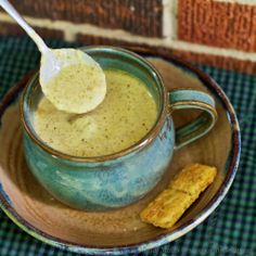 Roasted Broccoli Cheddar Soup - low carb - Better than the usual Broccoli Cheddar Soup!
