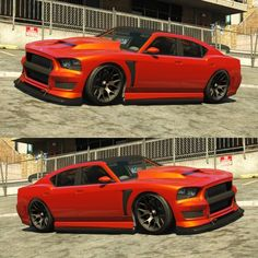 Best Cars to Customize in GTA 5 Online Buffalo S Orange Pearlescent Paint Job