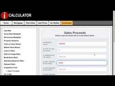 The Sales Proceeds Calculation  #realestate #realestatecalculators #realestatecalculations