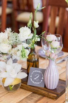 Charming Braai Wedding by Adele Kloppers Centrepieces, Wedding Centerpieces, Adele, Wedding Flowers, Charmed, Table Decorations, Bride, Beach, Home Decor