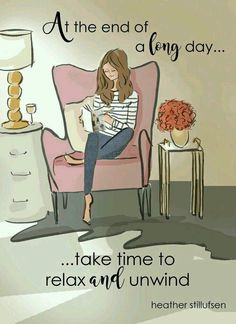 Don't forget ToDAY, take time to relax, you're very important!   ☕