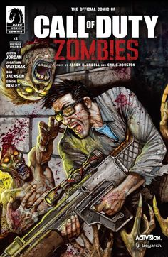 Call of Duty: Zombies #3 #DarkHorse @darkhorsecomics #CallOfDuty #Zombies (Cover Artist: Simon Bisley) Release Date: 3/1/2017