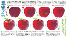 Coloring an apple Digital Painting Tutorials, Digital Art Tutorial, Painting Tools, Art Tutorials, Drawing Tutorials, Food Drawing, Drawing Skills, Drawing Techniques, Drawing Tips