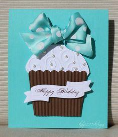 """Tiffany Cupcake"" Card - Scrapbook.com"