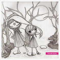la llorona coloring pages - photo#26