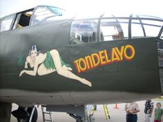 Image detail for -File:B-25 Mitchell nose art Tondelayo.jpg - Wikipedia, the free ...