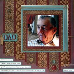 Spellbinders Paper Arts - Idea Gallery - View Project - Love You, Dad