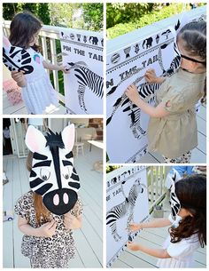 Go Completely Wild Over This Safari-Themed Birthday Party Safari Girl Birthday Party Animal Themed Birthday Party, Zebra Birthday, Jungle Theme Birthday, Safari Theme Party, Wild One Birthday Party, Safari Birthday Party, Zebra Party, Carnival Birthday Parties, Girl Birthday