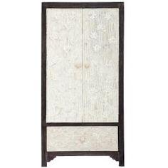floral bone inlay cupboards