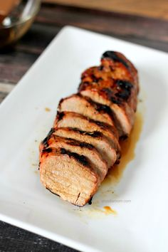 This succulent grilled Honey Soy Glazed Pork Tenderloin recipe has wonderful depth of flavor, with just a few ingredients.