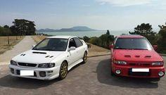 Subaru and mazda gtr