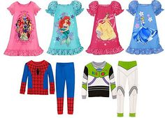 Disney Kids' PJ Pals and Nightshirts for $8 + FREE shipping at DisneyStore.com!