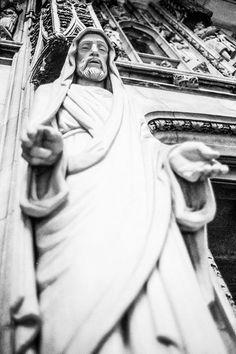 Jesus. Ilford HP5, Leica CL, Leica Summicron-C 40mm f/2. © Jim Fisher