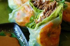 Vietnamese-style spring rolls made with soba noodles - Whole Grain Gourmet