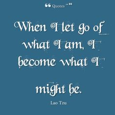 When I Let Go