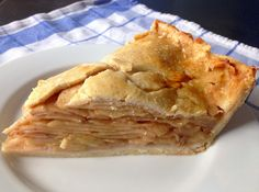 """Welcome Home"" Apple Pie - made from scratch and made with love #desserts #love #recipes andwhatiate.com"