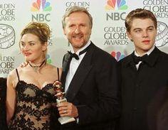 Kate Winslet, James Cameron and Leonardo DiCaprio