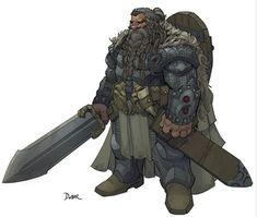 Dwarf Warrior by Max Dunbar