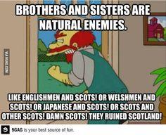 Scots....