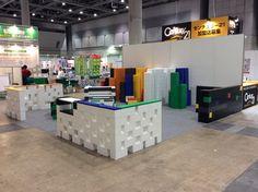 #tradeshow #exhibit #display #booth #MyBlockJP #design #build #buildingblock #DIY #modular #create #design #everblock #everblocksystems