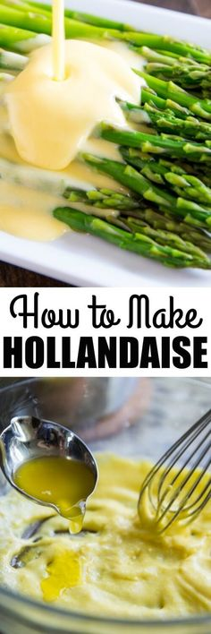 Learn how to make Hollandaise Sauce the traditional way, with a whisk! It sounds intimidating, but with a little patience, anyone can do it, I promise.
