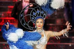 Maybe Vivica Fox should be a Las Vegas showgirl - on stage at Jubilee!